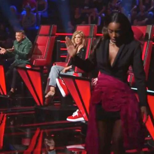 Kelly Rowland Walks Off Set Of The Voice After Massive Blow Up With Guy Sebastian