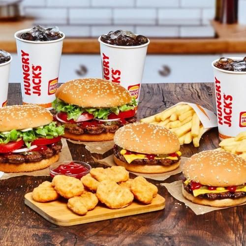 Hungry Jacks Have Started Slinging New Burgers & They Come With Free Delivery