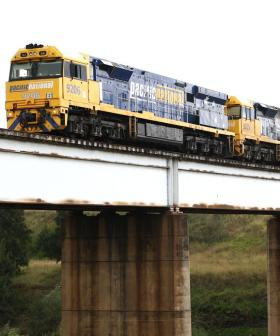 Cops Catch Four Men Allegedly Trying To Flee Victoria By Stowing Away On A Freight Train
