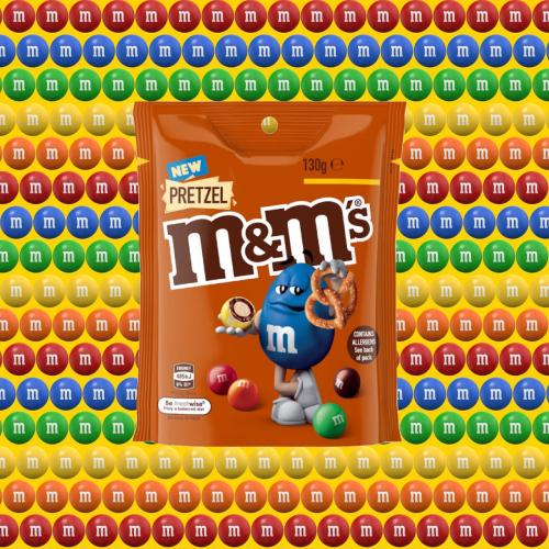 Pretzel M&M's Are Coming To Aus & It's SCIENCE That They Are The Best Flavour. It's Science.