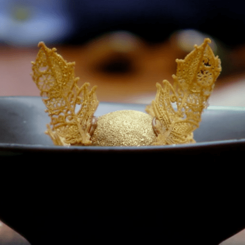 MasterChef's Reynold Stuns Again With Golden Snitch Dessert!