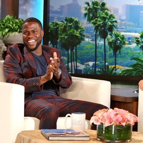 Kevin Hart Defends Ellen Amid Show Investigation