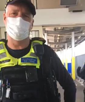 Melbourne Anti-Masker Films Himself Confronting Officers, Proving There Are Male Karens Out There Too