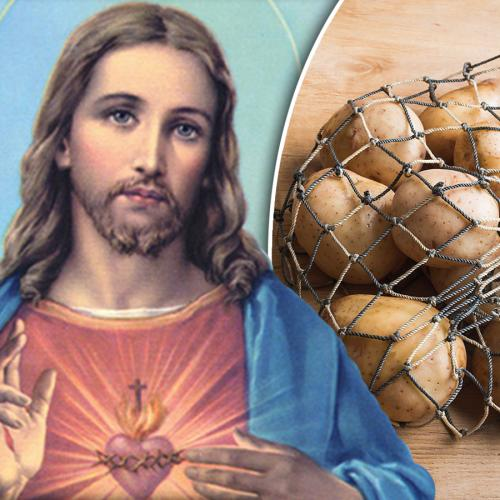 "Woman Discovers ""Face Of Jesus"" In Pack Of ALDI Potatoes"