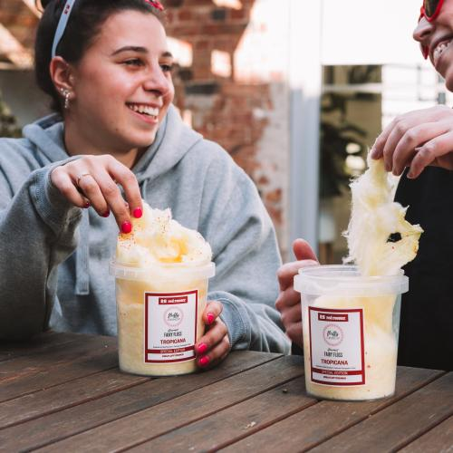 Red Rooster Is Releasing A Limited Edition 'Pineapple Fritter' Fairy Floss For Charity!
