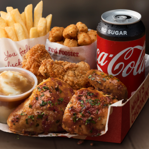Red Rooster Has Dropped The Smokey BBQ Mega Box For Your Next Comfort Feast