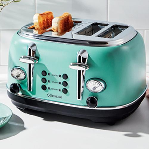 Aldi Is Dropping Very Trendy Four-Slice Toasters Next Week