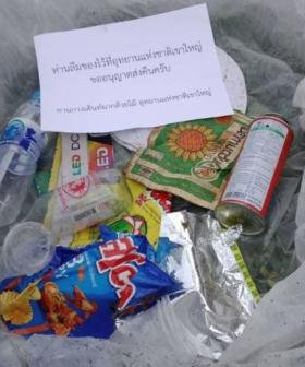 'You Forgot Something': Thai National Park Is Now Posting Rubbish Back To Litterbug Tourists