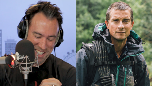 Bear Grylls Calls In From A Mountain Top!