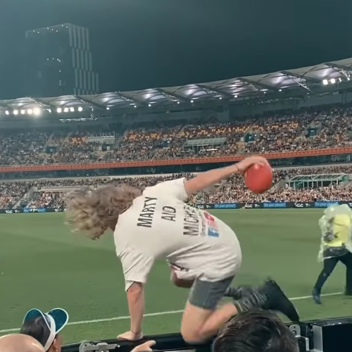 AFL Streakers Apologise For Stunt
