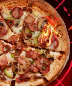 Domino's Now Has Halloween Roulette Pizza With One Slice Covered In Ghost Chilli
