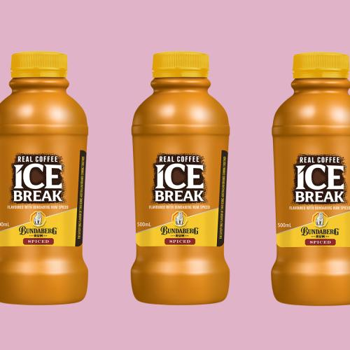 Ice Break Iced Coffee Now Comes In A Bundaberg Spice Rum Flavour
