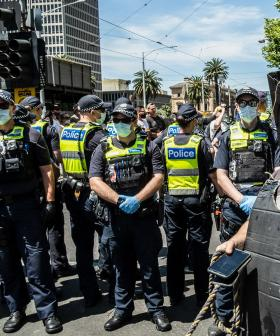 Over 400 Arrested As Anti-Lockdown Protest Turns Ugly