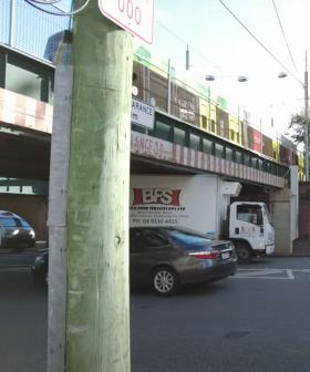 This Man Was Out Filming A Doco About The Montague St Bridge... And Guess What Happened?