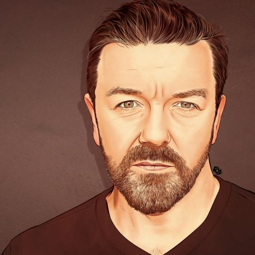 Ricky Gervais Was A Boy With His Sights Set On A Surprising Career