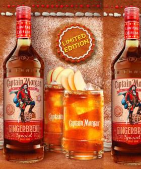 Captain Morgan's Got A Spiced Gingerbread Holiday Flavour!