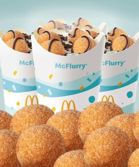 Macca's Has Introduced A Donut Ball McFlurry To It's UberEats Menu