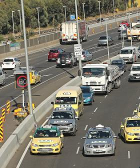 Roads Packed As Melburnians Allowed To Travel To Regions For First Time In Months