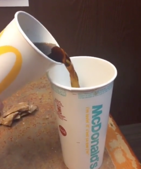 Video Appears To Expose McDonald's Cup Sizes, Sparking Outrage Online