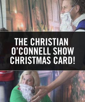 The Christian O'Connell Show Christmas Card!