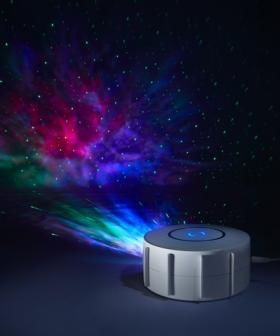 Incredible Kmart Galaxy Projector Going Viral & Now Top Of Christmas Lists Nationally