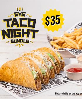 You Can Get Giant Taco Night Bundles From Guzman Y Gomez As Of Today