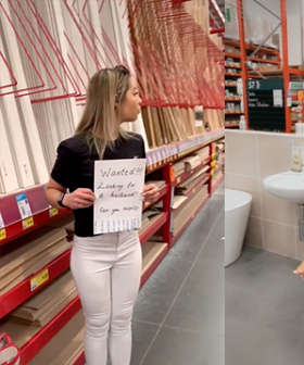 Woman Skips Dating Apps & Heads To Bunnings To Search For Future Husband