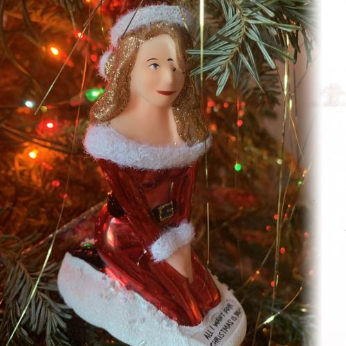 Mariah Carey Responds To Hilarious Unauthorised Christmas Ornament Of Herself