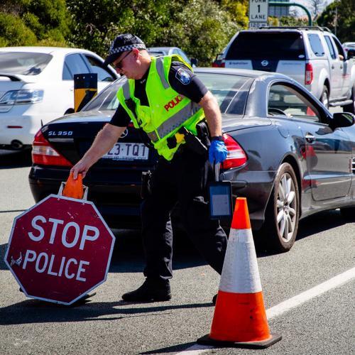 Greater Brisbane Declared A Red Zone Under Traffic Light Permit System