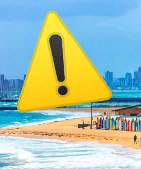 Major Warning For All Victorian Beachgoers Following Devastating Start To Long Weekend