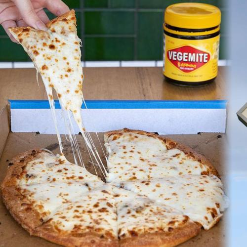 Would You Eat A Vegemite Pizza? You Might Be Able To Get One From Domino's Soon
