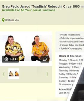 Some of Gumtree's Most Bizarre Ads Include A Guy Impersonating Toadie From Neighbours