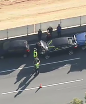 Six Car Pile Up Causes Traffic Chaos On The Monash Freeway