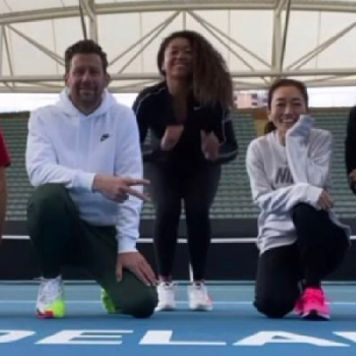 Australian Open Tennis Players In Adelaide Told To Stop Celebrating Freedom