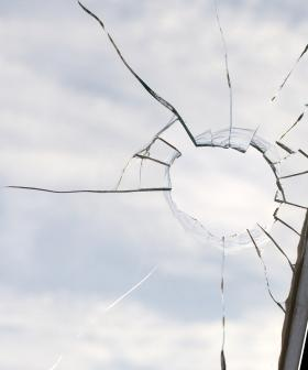 Christian Smashed A Window In His House While Practicing His Golf Skills