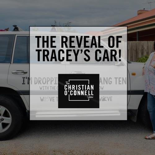 The Reveal of Tracey's Car!