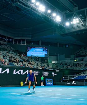 Australian Open Crowds So Low People Were Being Asked To Stick Around For Night Games For Free