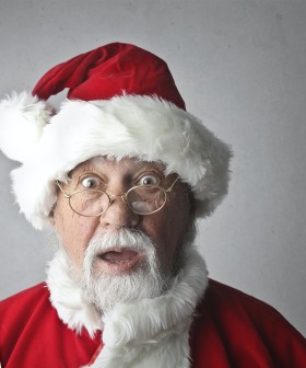 This Skydiving Santa Left Kids Traumatised & Christian Can't Stop Laughing