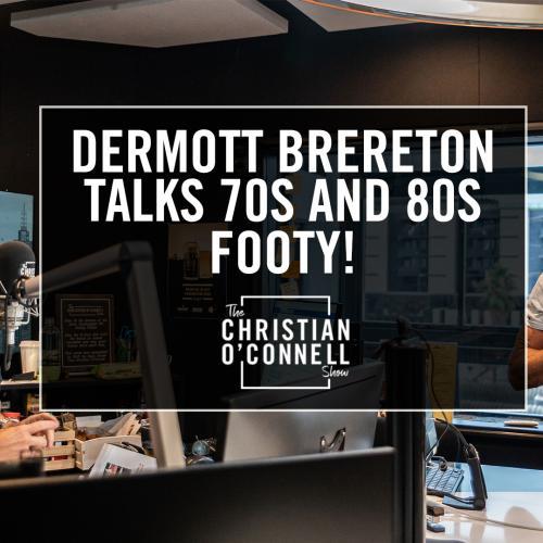 Dermott Brereton talks 70s and 80s Footy!