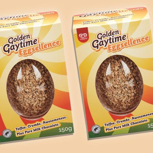 A Golden Gaytime Easter Egg Is Going To Hit Shelves Next Month