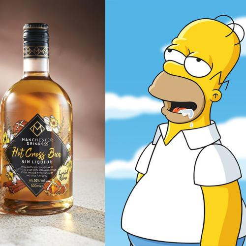 Aldi Now Has Hot Cross Bun Gin Just In Time For Easter