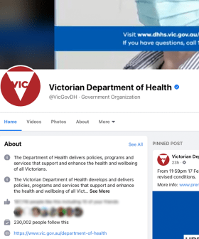 Victorian Health Pages Dodge Facebook's Widespread News Ban