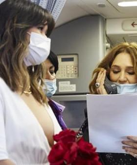 Melbourne Couple Get Married On Virgin Flight To Sydney