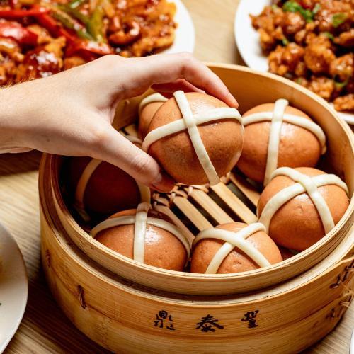 Din Tai Fung Are Doing Hot Cross Baos