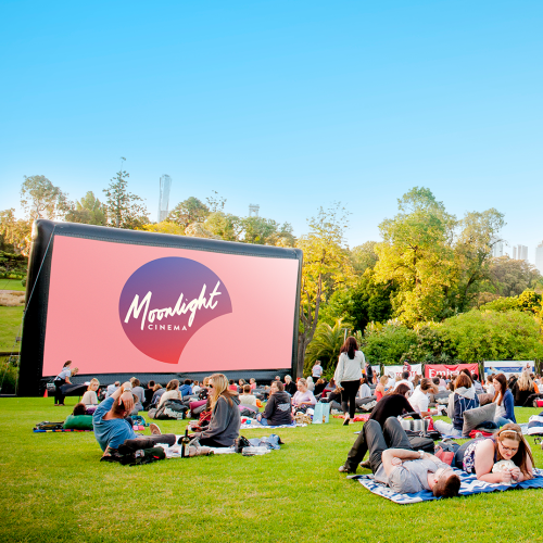 Moonlight Cinema Has Extended Their Season Into April & Is Slinging Free Pizza