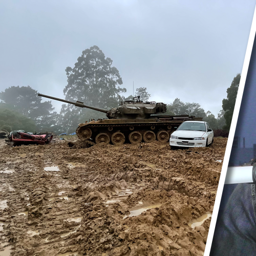 A Listener Had A Dream...To Crush A Car With A Tank, Naturally We Made It Happen