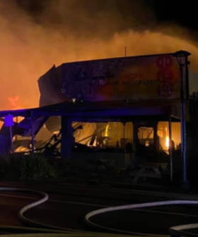 Apollo Bay Motel Evacuated, Stores Destroyed In Blaze Overnight