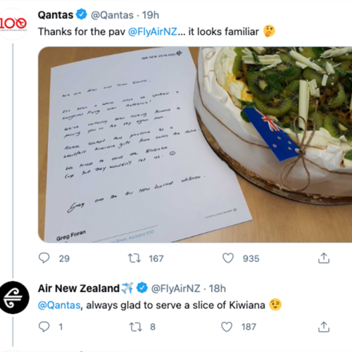 Air New Zealand & Qantas Have Kicked Off The Travel Bubble Banter On Twitter