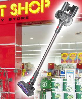 The Reject Shop Have Just Dropped A Budget Version Of A Dyson-Like Vacuum Cleaner