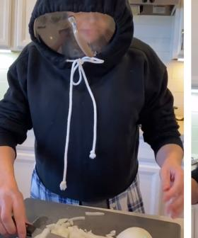 This Woman's Hack For Chopping Onions Is Going Viral And It's Hilarious!